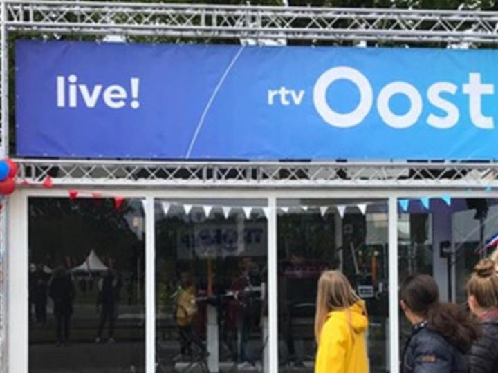 RTV Oost met studio op de Oude Deuren Cup